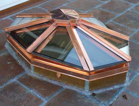 Custom Copper Skylights New England Skylights